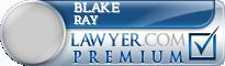 Blake Anthony Ray  Lawyer Badge