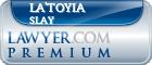 La'Toyia Jenessa Slay  Lawyer Badge