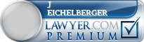 J Matthew Eichelberger  Lawyer Badge