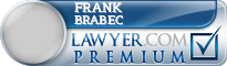Frank Russell Brabec  Lawyer Badge