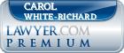 Carol L White-Richard  Lawyer Badge