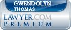 Gwendolyn J Thomas  Lawyer Badge