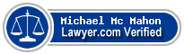 Michael Emmett Mc Mahon  Lawyer Badge