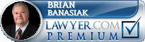 Brian W Banasiak  Lawyer Badge