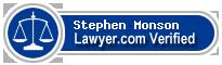 Stephen H Monson  Lawyer Badge