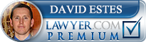 David M. Estes  Lawyer Badge
