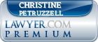 Christine D Petruzzell  Lawyer Badge