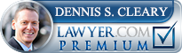 Dennis S. Cleary  Lawyer Badge