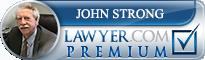 John VR Strong, Jr.  Lawyer Badge