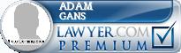 Adam Loren Gans  Lawyer Badge