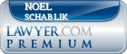 Noel E Schablik  Lawyer Badge