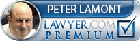 Peter Joseph Lamont  Lawyer Badge
