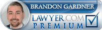 Brandon Gardner  Lawyer Badge