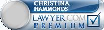 Christina Tamar Hammonds  Lawyer Badge