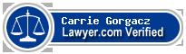 Carrie Gorgacz  Lawyer Badge