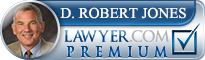 D. Robert Jones  Lawyer Badge