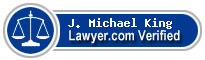 J. Michael King  Lawyer Badge