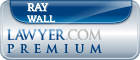 Ray Lee Wall  Lawyer Badge