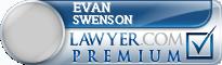Evan Swenson  Lawyer Badge