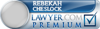 Rebekah Jo Cheslock  Lawyer Badge