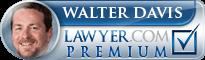 Walter Alan Davis  Lawyer Badge