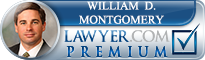 William D. Montgomery  Lawyer Badge