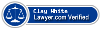 Clay White  Lawyer Badge