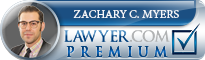 Zachary C Myers  Lawyer Badge