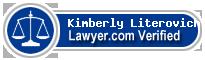 Kimberly Anne Literovich  Lawyer Badge