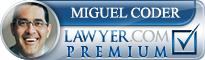 Miguel A. Coder  Lawyer Badge
