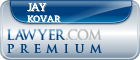 Jay Kovar  Lawyer Badge