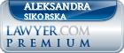 Aleksandra Joanna Sikorska  Lawyer Badge