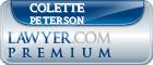Colette Victoria Peterson  Lawyer Badge