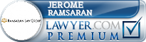 Jerome Ramsaran  Lawyer Badge