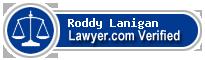 Roddy Bisgaard Lanigan  Lawyer Badge