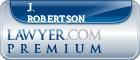 J. Pargen Robertson  Lawyer Badge