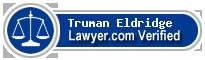 Truman K Eldridge  Lawyer Badge