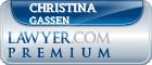 Christina Frances Gassen  Lawyer Badge