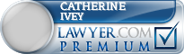 Catherine Marie Ivey  Lawyer Badge