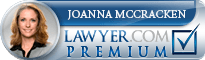 Joanna McCracken  Lawyer Badge