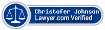 Christofer C. Johnson  Lawyer Badge
