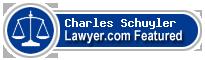 Charles W Schuyler  Lawyer Badge