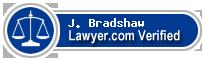 J. Allen Bradshaw  Lawyer Badge