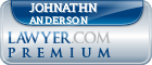 Johnathn W Anderson  Lawyer Badge