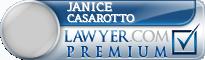 Janice M Casarotto  Lawyer Badge
