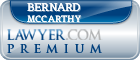 Bernard F McCarthy  Lawyer Badge
