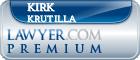 Kirk Krutilla  Lawyer Badge