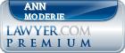Ann L Moderie  Lawyer Badge