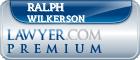 Ralph W. Wilkerson  Lawyer Badge