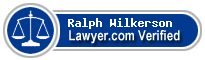 Ralph W. Wilkerson  Lawyer Badge